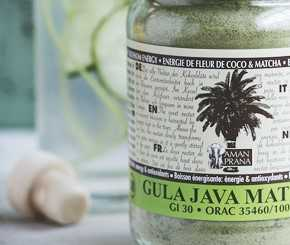 Coconut Blossom Sugar + Organic Matcha