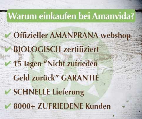 Webshop, biologisch zertifiziert - Wählen Sie auch Amanvida ! Mehr als 8000 zufriedene Kunden waren schon hier! Die biologische superfoods, Hautpflege usw. von Amanprana kaufen Sie hier am einfachsten und am günstigsten ein. Lesen Sie weiter >