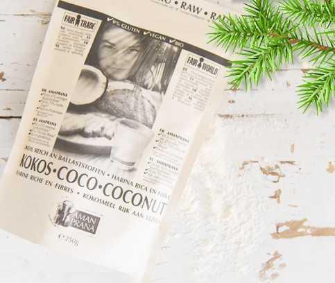 farine de noix de coco sans gluten