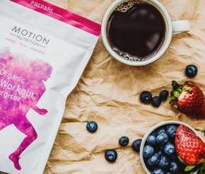 Motion Nutrition - sportvoeding van biologische oorsprong