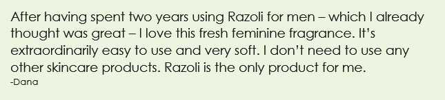 Review Razoli Shaving Oil for Women, Dana